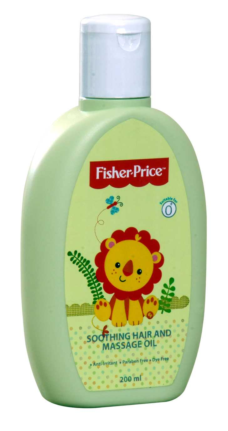 Fisher-Price Soothing Hair and Massage Oil